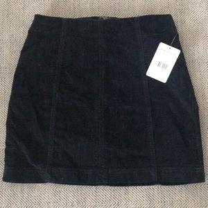NWT Free people mini skirt